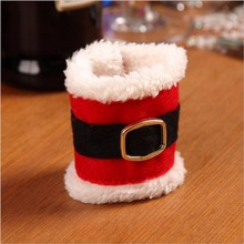 10 Pcs / Lot Christmas Belt Buckle Napkin Rings Holder Party Banquet Dinner Table Decor adornos navidad 2016 envio gratis
