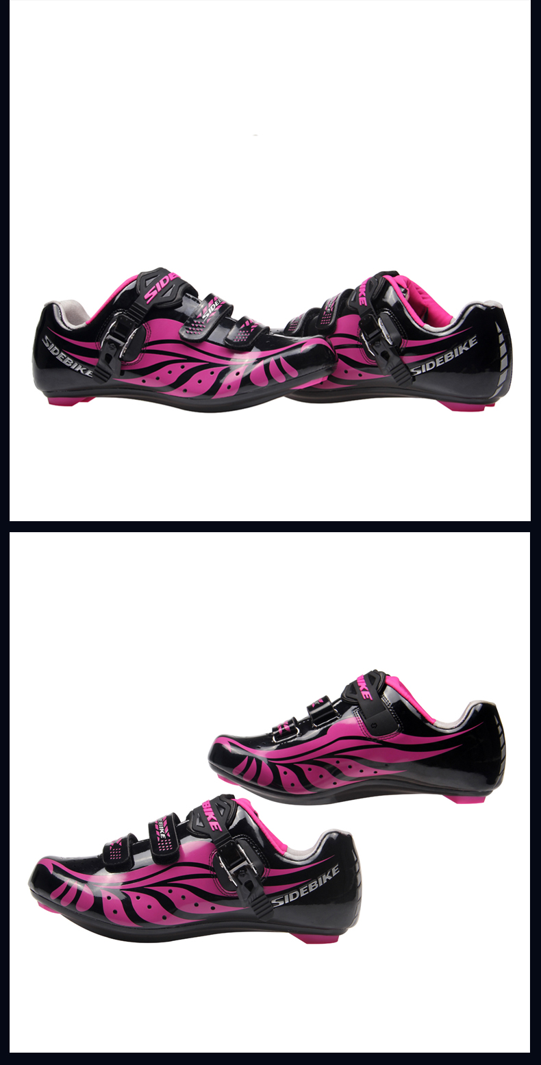 sidebike professional bicycle cycling shoes clipless