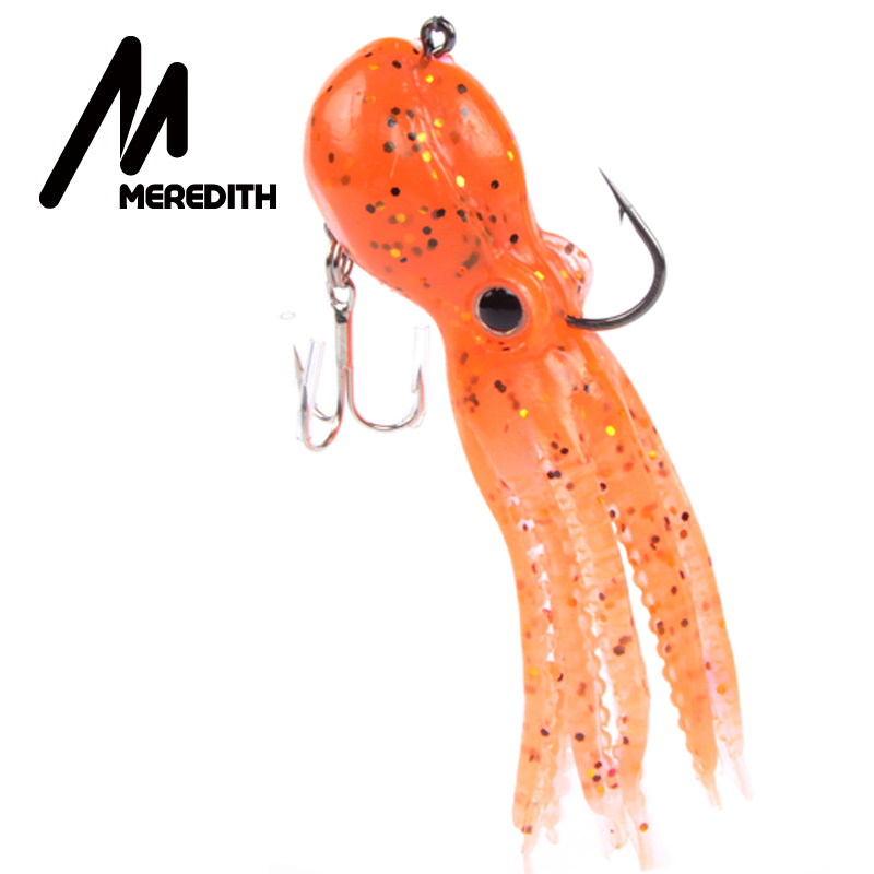 Meredith FISHING 23g 9cm long tail soft lead Pulpos de pesca Venta al - Pescando - foto 6