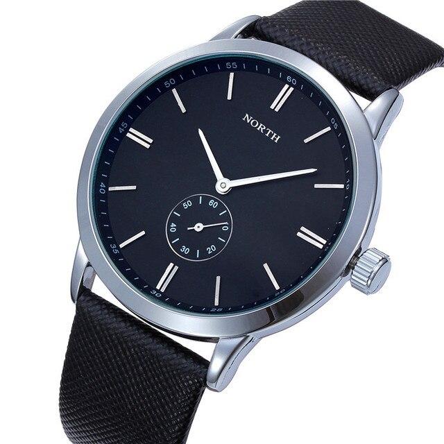 870a2c916eda Reloj hombre 2016 los hombres de la marca de lujo casuales relojes cuero de negocios  reloj