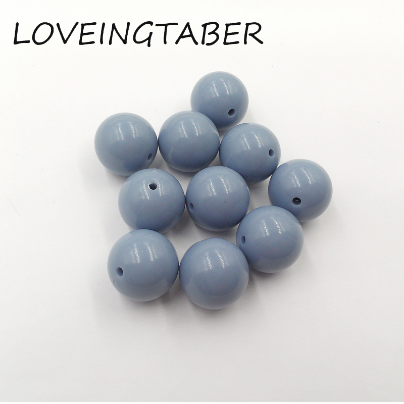 Back To Search Resultsjewelry & Accessories Beads & Jewelry Making Useful S71 20mm 100pcs New Winter Color Pale Dark Blue Kids Play Fun Bubblegum Acrylic Solid Beads For Jewelry Cdwb-701177