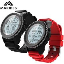 Makibes G07 Bluetooth GPS спортивные часы Смарт часы IP68 Водонепроницаемый динамический монитор сердечного ритма мульти-спорт Для мужчин часы GPS трекер