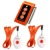 Singcall sistema de botón de llamada inalámbrica médica. servicio de buscapersonas. cuidador dos botones de llamada y cuidador enfermera localizador de alarma inteligente