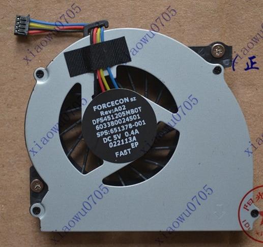 Nuevo ventilador de CPU SSEA para HP EliteBook 2560 2570 2560p 2570p Ventilador de computadora portátil N / P MF60090V1-C130-S9A o DFS451205MB0T FA5T Ventilador de enfriamiento