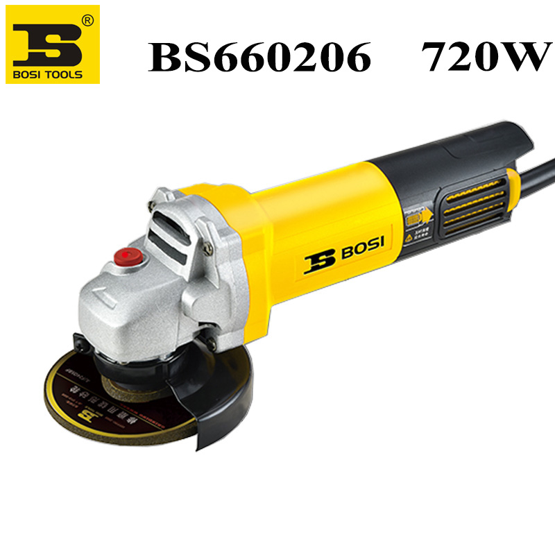 BOSI 720W 1500W Angle Grinder Corded Power Tool