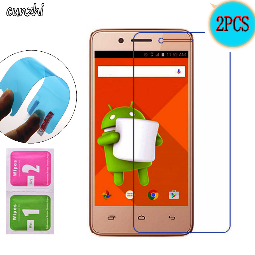2PCS For Micromax Q402 Ultra Clear Nano Explosion-proof Screen Protector Mobile Phone Film For Micromax Bharat 2 Q402