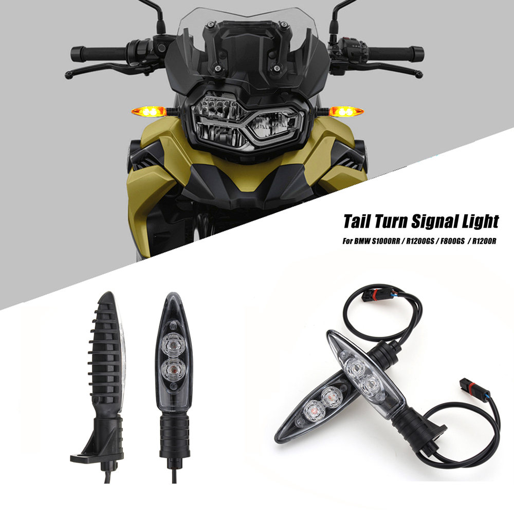 bmw r800gs adventure 2017 - For BMW R1200GS adv blinker Motorcycle Turn Signal LED Indicators For BMW F650GS R1200R S1000RR F800GS/R K1300S G310R/GS F800ST