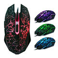 2016 High Precision USB Wired Gaming Mouse 6 Button 4000 DPI Backlight Computer Mouse Mice Support Windows 10 Free Shipping
