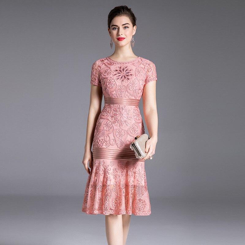 sexy dresses women 3xl 4xl 2019 new Spring ladies elegant empire Club Party Dress Plus Size