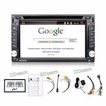 Автомобиль Электронные Авторадио 2din android-dvd-плеер автомобиля стерео GPS навигации WI-FI + Bluetooth + Радио + 1 г Процессор + 3 г + ТВ (опция)