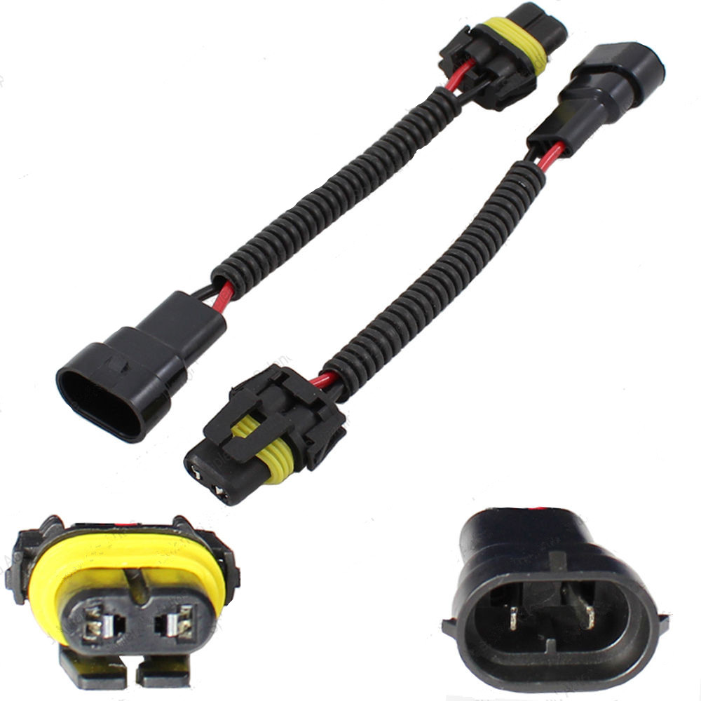 2 Pieces 9006 9012 HB4 Extension Wiring Harness Sockets Wire For Headlights Fog Volkswagen VW aliexpress com buy 2 pieces 9006 9012 hb4 extension wiring 9012 hid wiring harness at edmiracle.co