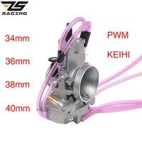 ZS Racing Motorcycle Keih 34mm 36mm 38mm 40mm Carburetor For 125cc 250cc 2 Stroke 4 Stroke Racing PWM34 40 Carburador
