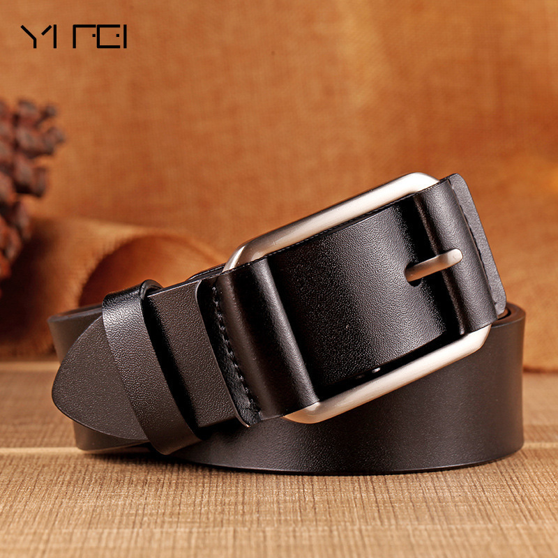 2018 Brand Belts for Men High Quality Cow Genuine Leather Belt Man Fashion Designer Strap Male