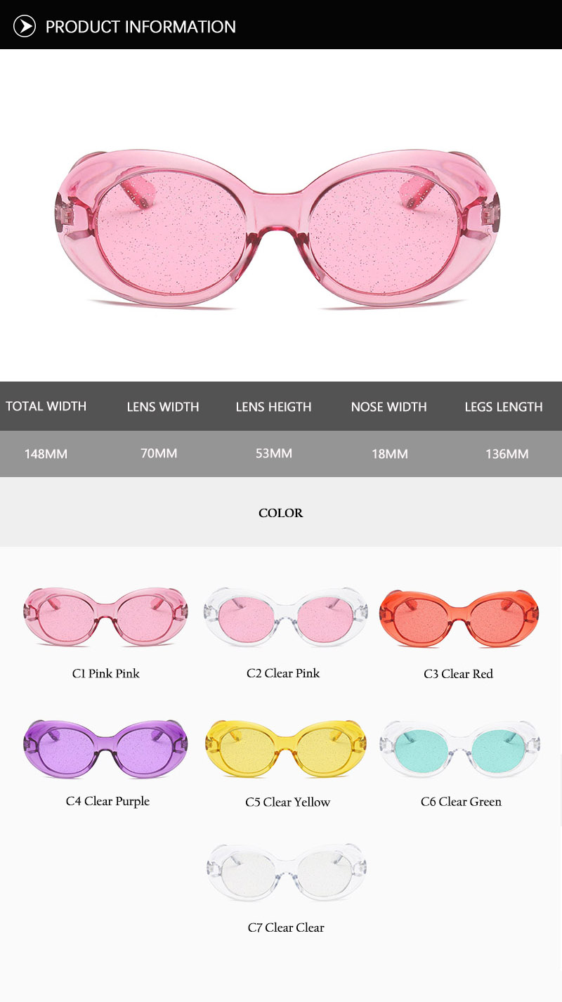 Oval Shape Sunglasses (38)