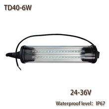 HNTD 6W DC 24V LED Panel Light Led Work Light Explosion-proof TD40 Waterproof IP67 for CNC Machine Tools Free shipping