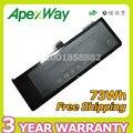 "Apexway A1321 73WH 11.1 V batería del ordenador portátil para Apple MacBook Pro 15 ""MB985J/A MB985 MB986J/A MC118 MC118 */A MC118X/A + destornilladores"