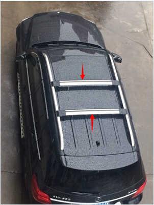 2 шт. Высокое качество! Универсальный Багажник На Крышу 93 ~ 111 см поперечный стержень для авто внедорожника с противоугонным замком нагрузка 150LBS верхний багаж