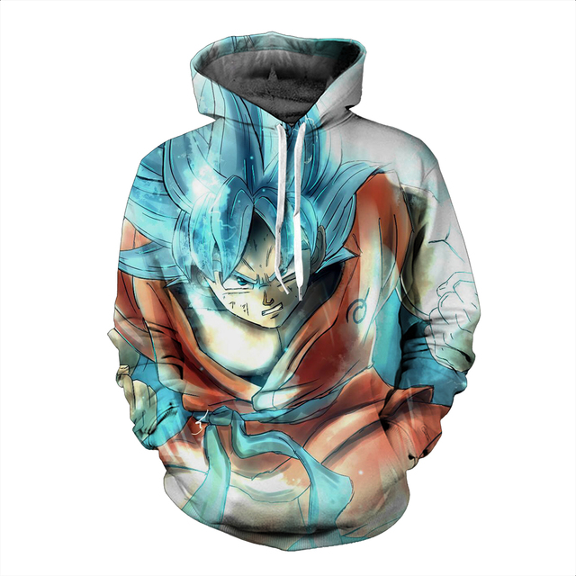 6 Differents Dragon Ball Super Hoodie's