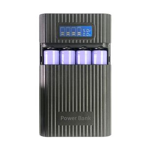 Image 1 - Антиреверсивный блок питания «сделай сам», 4 аккумулятора 18650, зарядное устройство с ЖК дисплеем для iphone Jy20 19, Прямая поставка