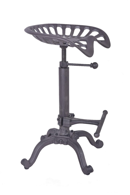 Chair Metal Powder Coat Farmhouse Tractor Seat Stool