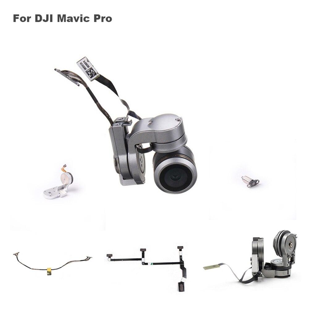 Pour DJI Mavic Pro Cardan Caméra Bras Moteur Avec Flex Câble Signal ligne Cardan Bras Portant PTZ De Réparation Partie Pour DJI Mavic Pro Drone