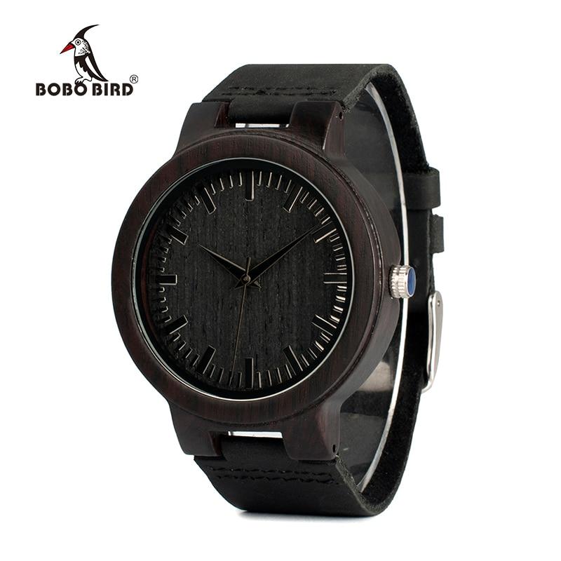 BOBO BIRD Reloj para hombre de madera Reloj de alta calidad Hombres - Relojes para hombres