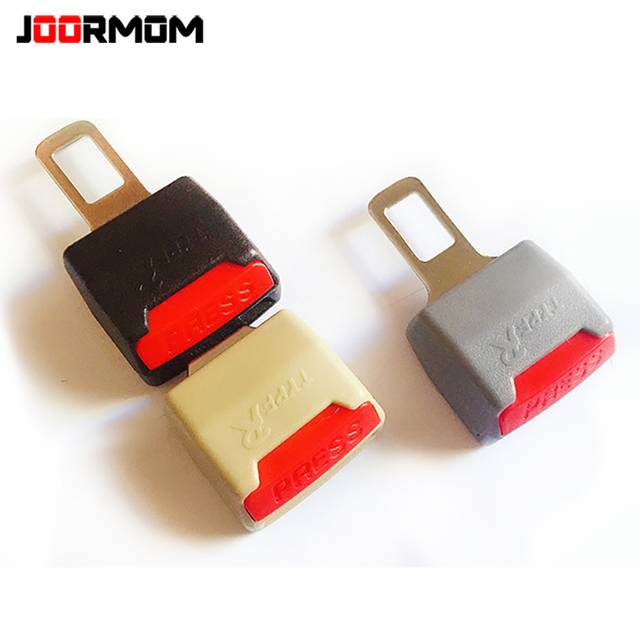 JOORMOM general car safety belt plug-in mother converter dual-use safety belt buckle extende car belt extender