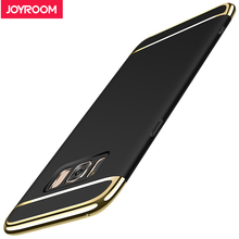 Joyroom Phone Case For Samsung Galaxy S8 Luxury Ultra Thin Matte Case Plating Frame Back Cover Case For Samsung Galaxy S8 Plus