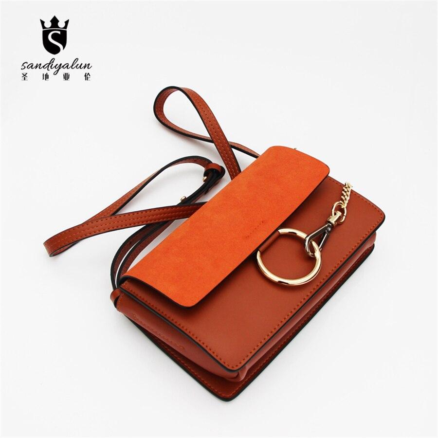 ФОТО Brand Designer Genuine Leather Woman Bags Fashion Lady Messenger Bag Day Clutches Handbags Girls Crossbody Bags