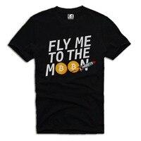 2018 Neuheiten T-shirt FLIEGEN MOND BITCOIN CRYPTO A475DTG mode Für Männer T-shirt Kleidung Gedruckt Baumwolle Mann o Neck Top