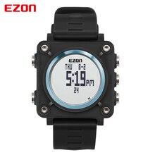 Мужские Часы Лучший Бренд Класса Люкс 50 М Водонепроницаемый Дата Часы EZON открытый спортивные часы многофункциональные часы компас