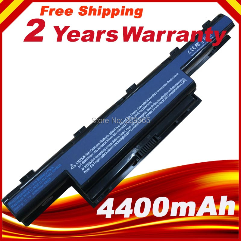 New Laptop Battery  For Packard Bell EasyNote LM86 TM86 TM87 TM89 AS10D3E, AS10D41, AS10D61, AS10D71, AS10D51