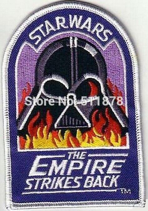 4 STAR WARS EMPIRE STRIKES BACK TV MOVIE Series Uniform Red punk rockabilly applique iron on