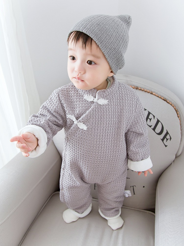 Baby winter rompers (3)