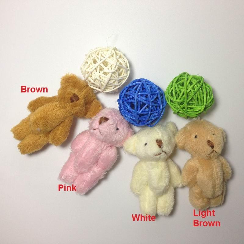 6cm long wool teddy bear (18) - 1