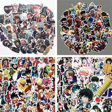 Hot New Movie Anime Collect Stickers Naruto One Piece The Avengers Game of Thrones Cosplay Accessories Badge Pinup Picture Gift(China)