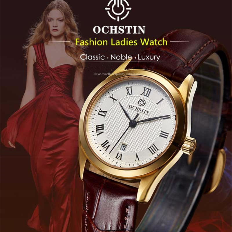 Kadin izle New Top Ochstin Brand Luxury Watches Women   Fashion Quartz Watch Relogio Feminino Clock Ladies Dress Reloj Mujer new arrival watch women quartz watch gold clock women leatch watches viuidueture brand fashion ladies dress watches reloj mujer