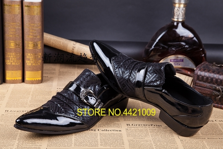 Italian style high quality real cowhide leather oxfords pointed slip on groom leather shoes formal wedding dress shoes men 2016 new arrival top quality men s slip on basic oxfords real cowhide leather formal wedding dress shoes men sapato masculino 46