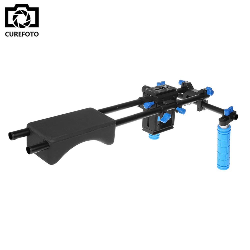 DSLR Rig Set Movie Kit Film Making System Shoulder Mount Support Follow Focus Matte Box for Digital SLR Camera Video Camcorder