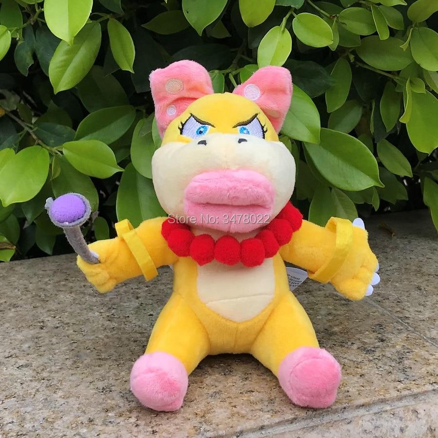 Koopa Plush Toy Stuffed Animal Doll 7/'/' Kids Gift Wendy O Super Mario Bros