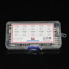 50 teile/los Keramik Sicherung sortiment kit 5x20mm Flink Rohr Sicherung set 0,2 EIN 0,5 EIN 1A 2A 3A 5A 8A 10A 15A 20A diy elektronische Sicherungen