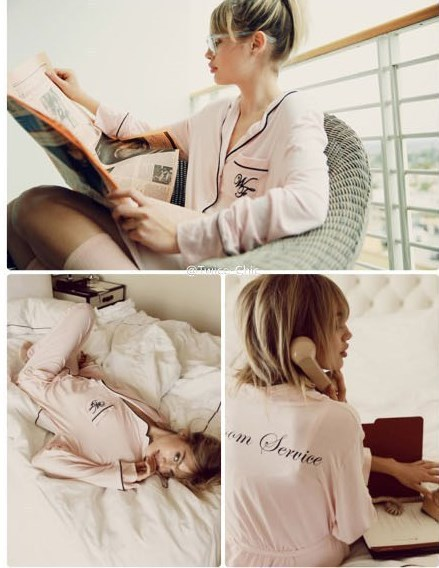 Wildfox pajama define marca cc roupão sexy lingerie babydolls camisa blusa túnica longa set/terno noite vestido de salão em casa sleepwear