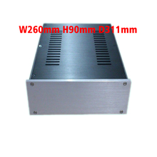 Aluminum case 2609 Full Aluminum Amplifier case /Mini AMP Case/ Preamp Box/ PSU Enclosure 260*90*311mm