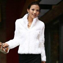 Осенне-зимнее женское болеро из искусственного меха размера плюс, XXXL, 4XL, воротник-стойка, короткое черное пальто из меха кролика Рекс и пальто