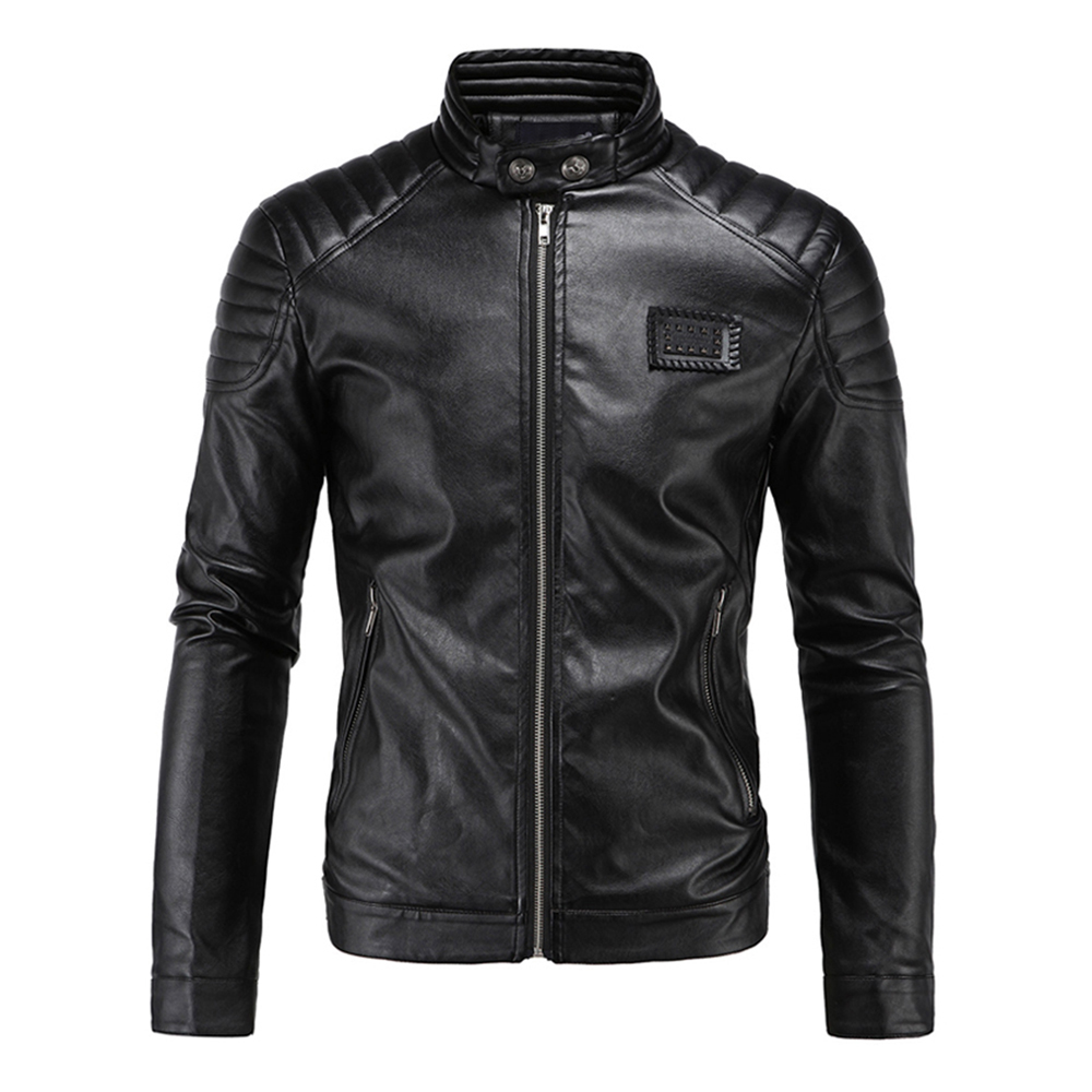 Herobiker Retro Classic Motorcycle Jacket Men Punk PU Leather Moto Jacket Motorcycle Clothing Biker Coats Windproof Jacket M-5XL herobiker retro windproof motorcycle jacket man black moto jacket with hat hoodie punk faux leather jacket motorcycle size m 5xl