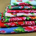 100% cotton textile ethnic chinese traditional big peony Phoenix fabrics for DIY apparel craft tablecloth cushion sewing decor