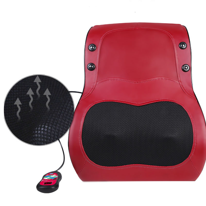 Electric Heated Pillow Massager Shoulder Neck Cervical Waist Multi-function Car&House Dual Use PillowElectric Heated Pillow Massager Shoulder Neck Cervical Waist Multi-function Car&House Dual Use Pillow