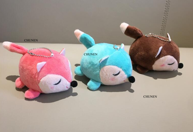 3Colors, Small Stuffed Toys , key chain Gift Plush Toys , baby toys dolls(China)