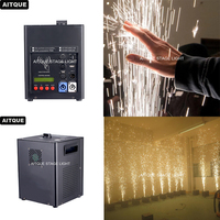 10pcs Musical party wedding equipment sparklers cold stage fire works cold smoke generator machine