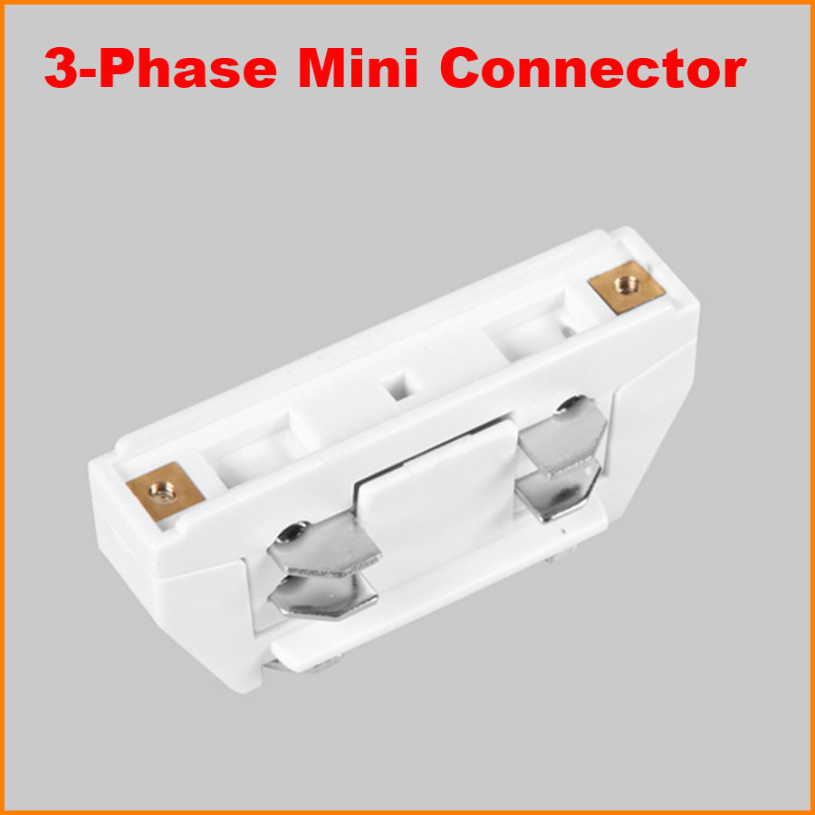 3 Phase Circuit 4 Wire Middle Feed Connector For Track Rail Joiner Plug Not A Socket Feeding The Boat Ac System Aluminum Accessories Lighting Black White In From